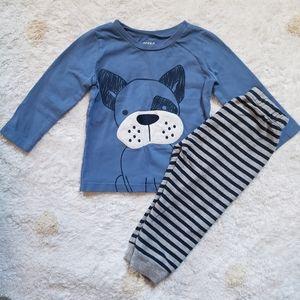 Pekkle Boys Puppy 2 Piece Outfit